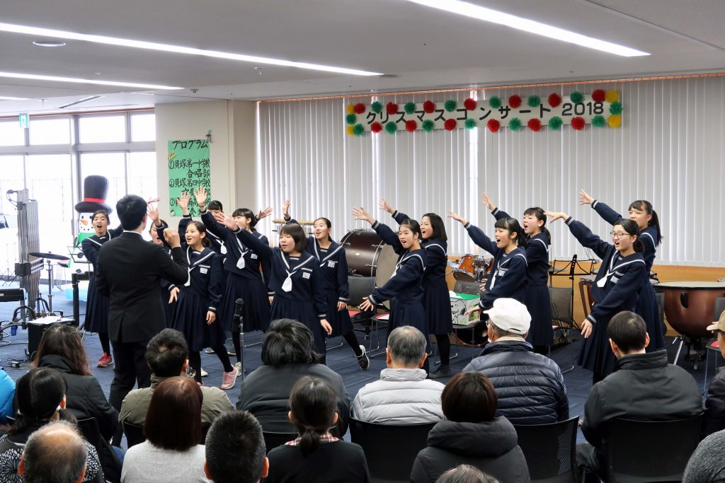 01貝塚第一中学校合唱部